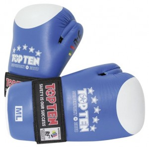 TopTen Superfighter 3000 Blauw Hand